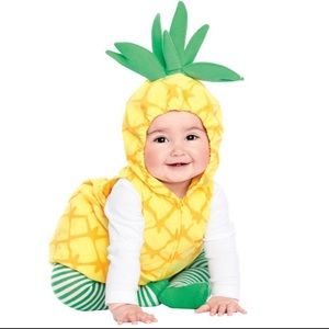 Baby Carter's Little Pineapple Halloween Costume